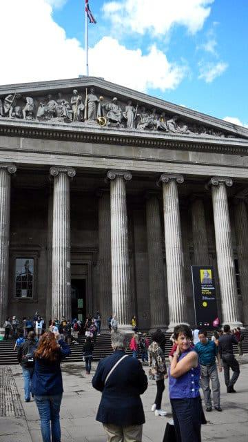 British museum entrance