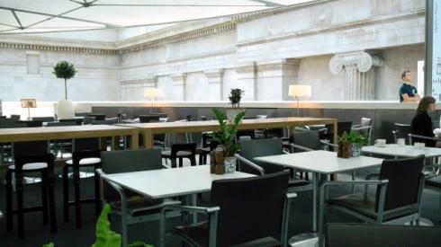 Court restaurant British museum