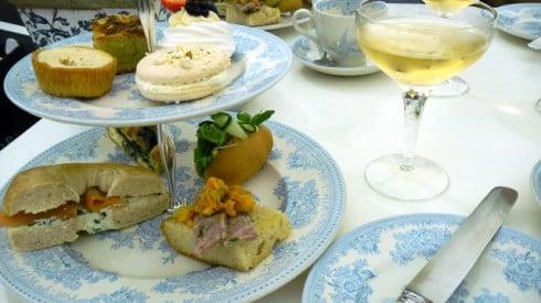 Court restaurant afternoon tea