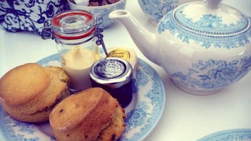 Court restaurant tea scones