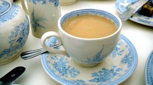 Earl Grey afternoon tea