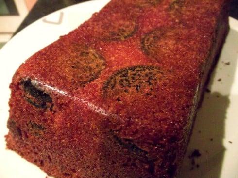 Hidden oreo cake