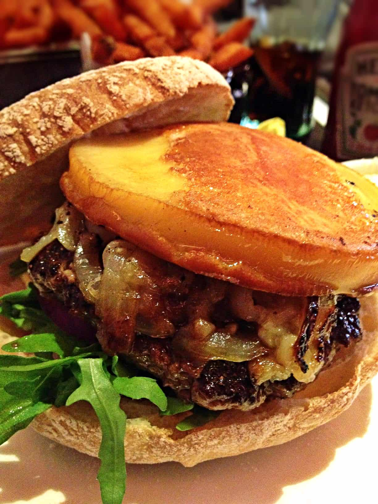 Hache burger chelsea londonbavarian smoked burger