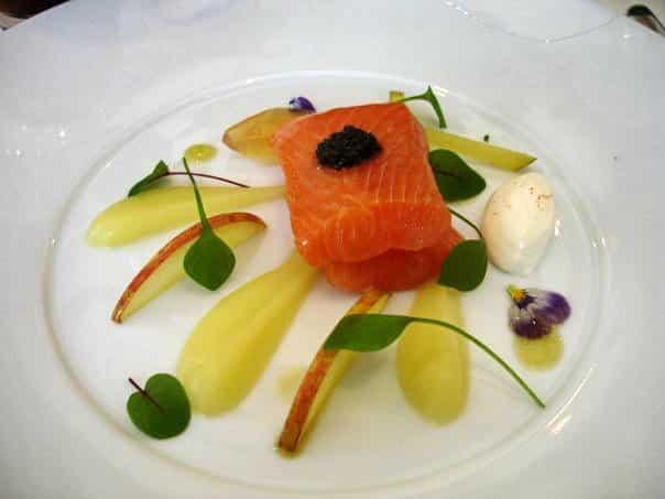 Le Manoir salmon caviar