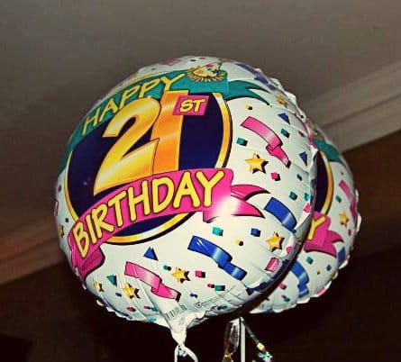 Le manoir 21st balloons