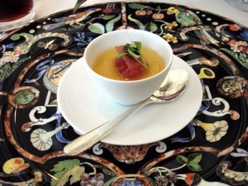 Le manoir tuna tartar