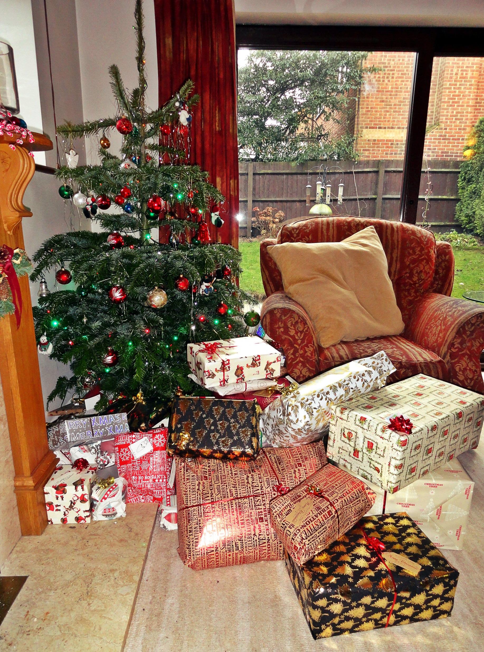 Christmas Day presents