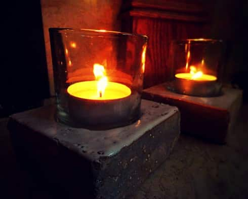 Chrstmas candles
