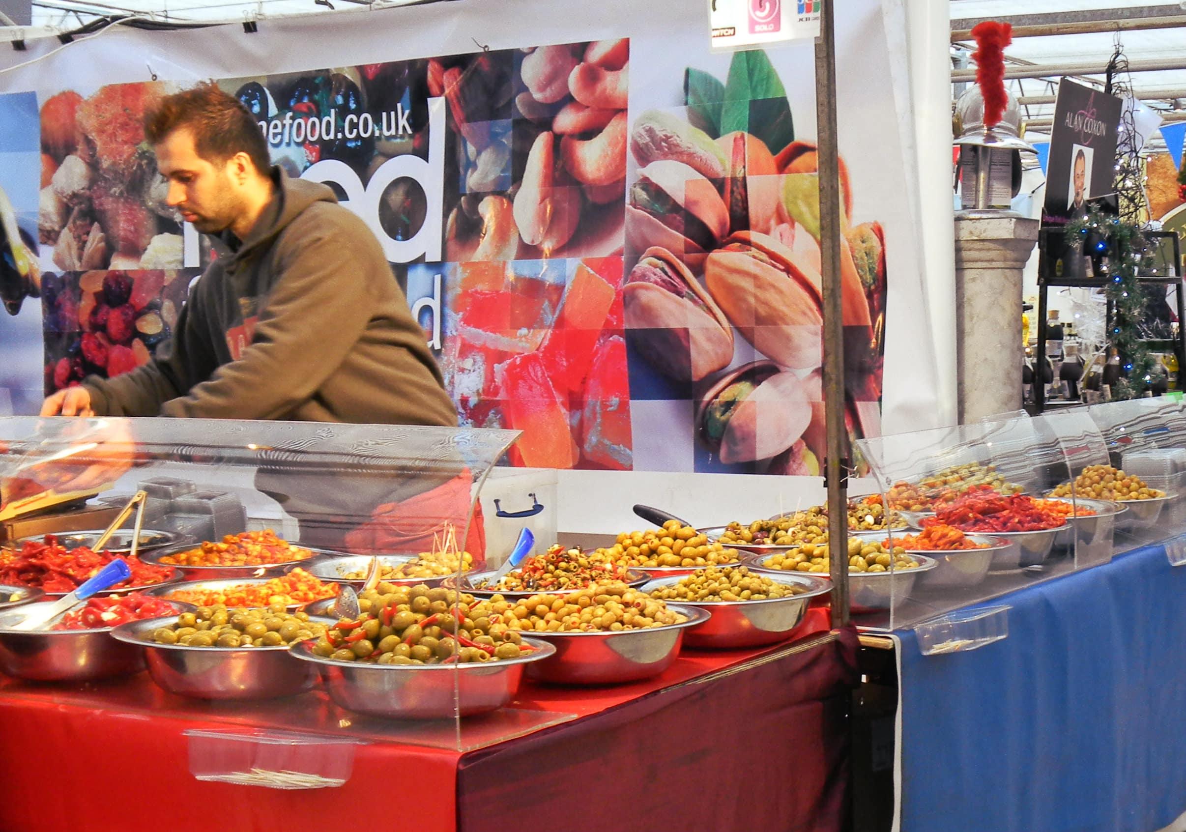 Waddesdon Manor Christmas food market 2