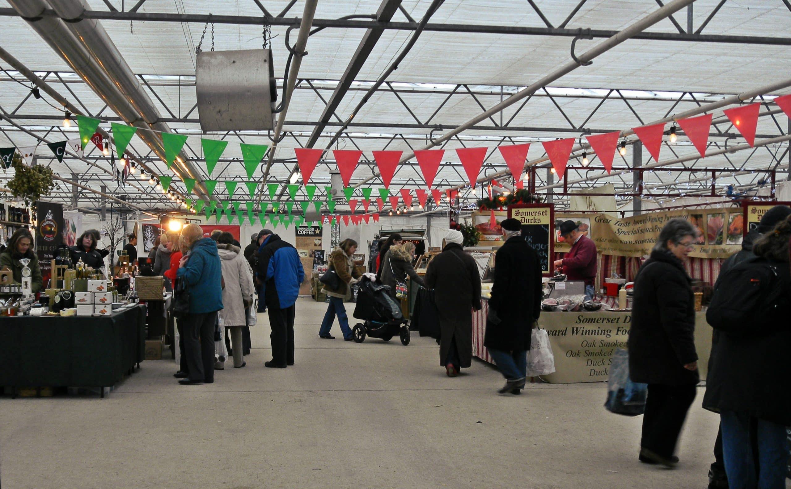 Waddesdon Manor Christmas food market