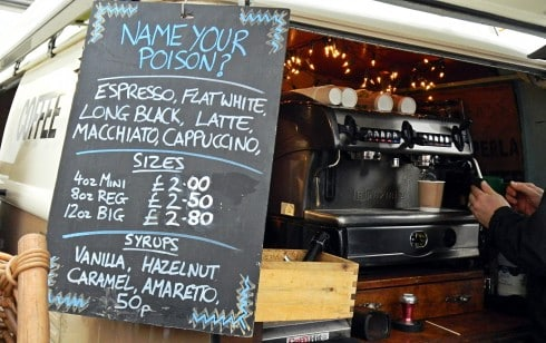 Waddesdon Manor food market monkshood coffee 3