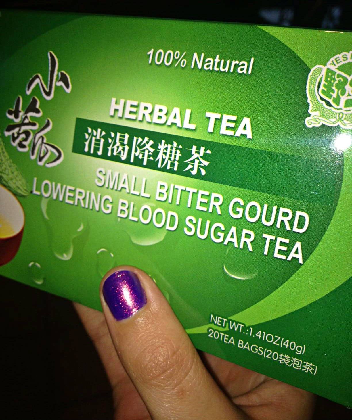 Bitter Gourd blood sugar lowering tea