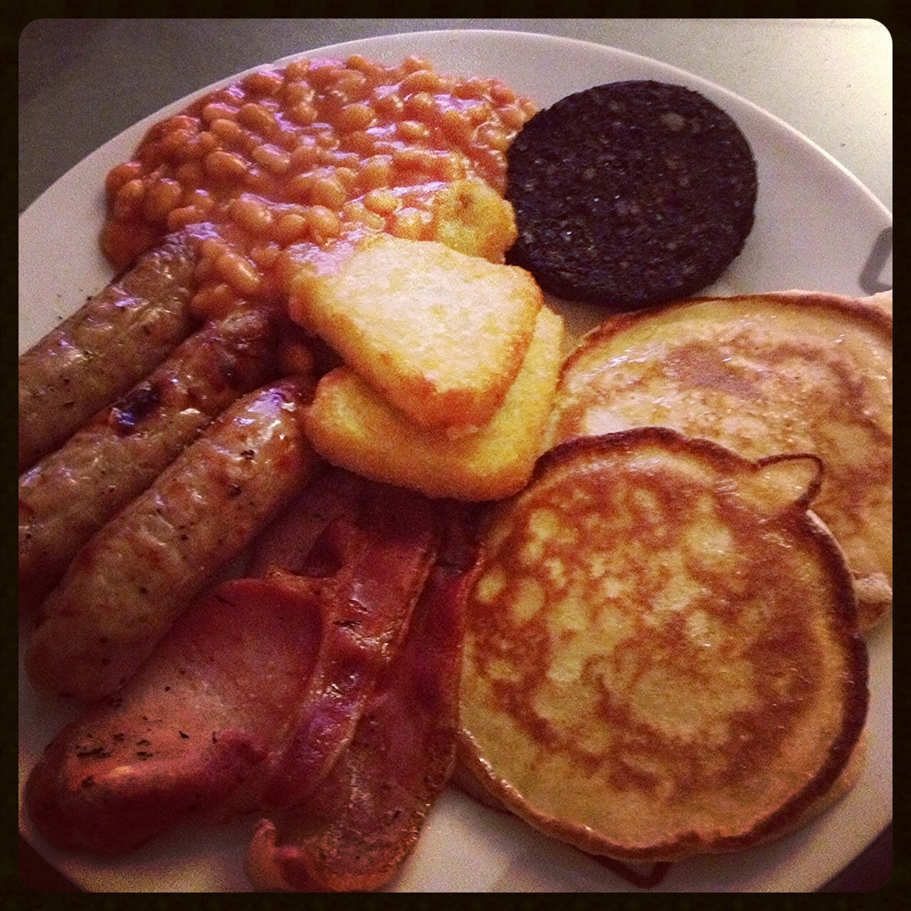 American fry up