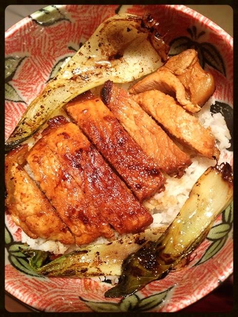 Chilli garlic pork chop