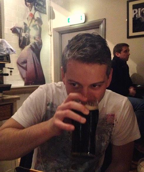 Jericho Tavern pint
