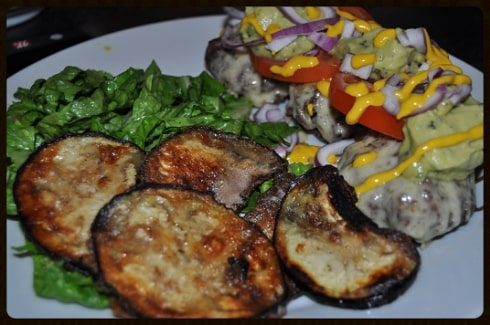 Low carb recipe burgers deconstructed