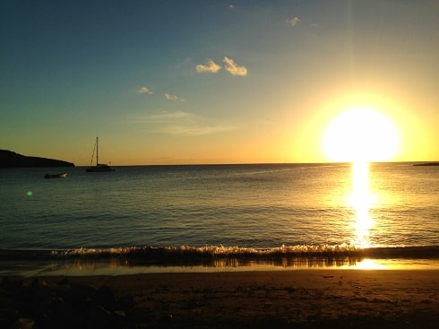 Anse La Raye St Lucia Fish Fry beach