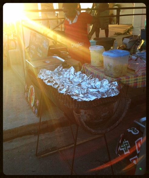 Anse La Raye red snapper BBQ fish fry