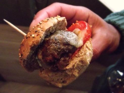 Aqua Italia Milton Keynes meatball burger