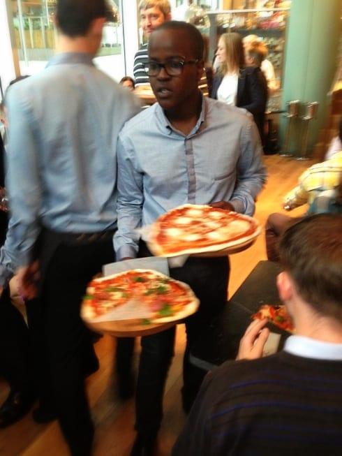 Aqua Italia Milton Keynes pizza