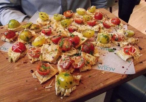 Aqua Italia Milton Keynes tomato bread