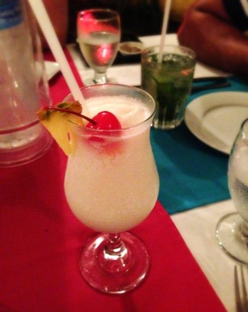 Best Pina Colada St Lucia Delirius