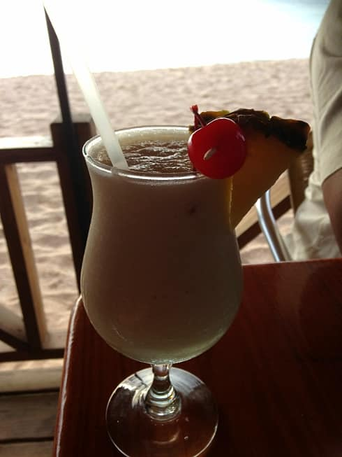 Best Pina Colada St Lucia Spinnakers