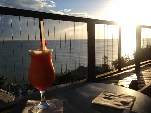 Calabash Cove Mango daquiri St Lucia 2