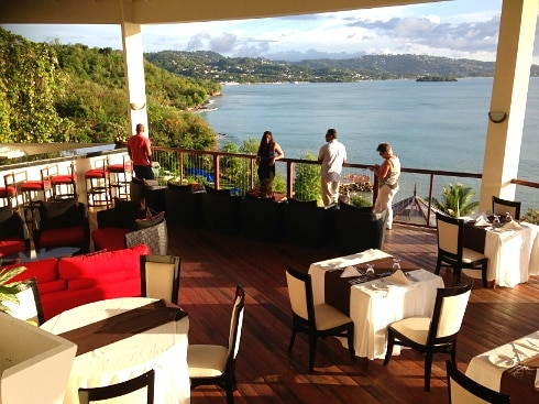 Calabash Cove view St Lucia