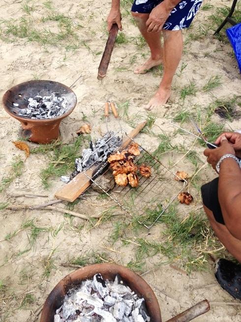 Five dollar beach St Lucia BBQ