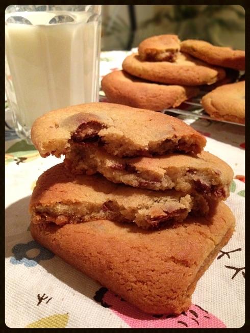 Mars mix cookies with milk