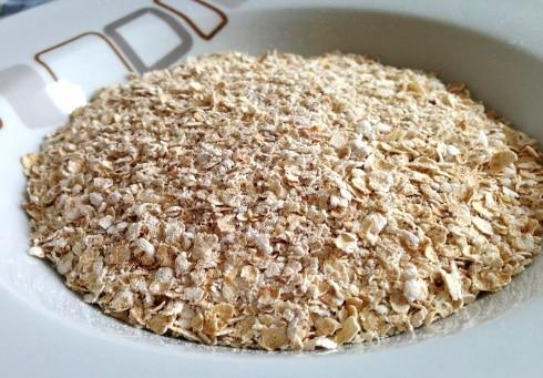 Power Muffins oats