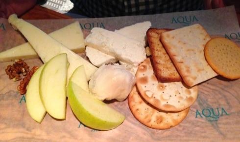 Aqua Italia Milton Keynes cheese board
