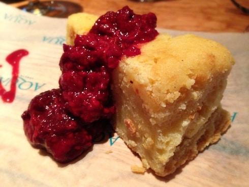 Aqua Italia Milton Keynes cheese cake