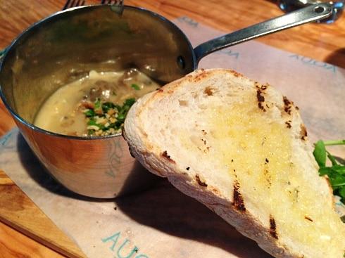 Aqua Italia Milton Keynes mushroom bread starter