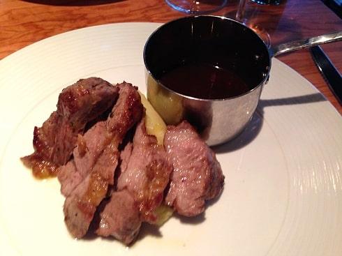 Aqua Italia Milton Keynes roasted lamb