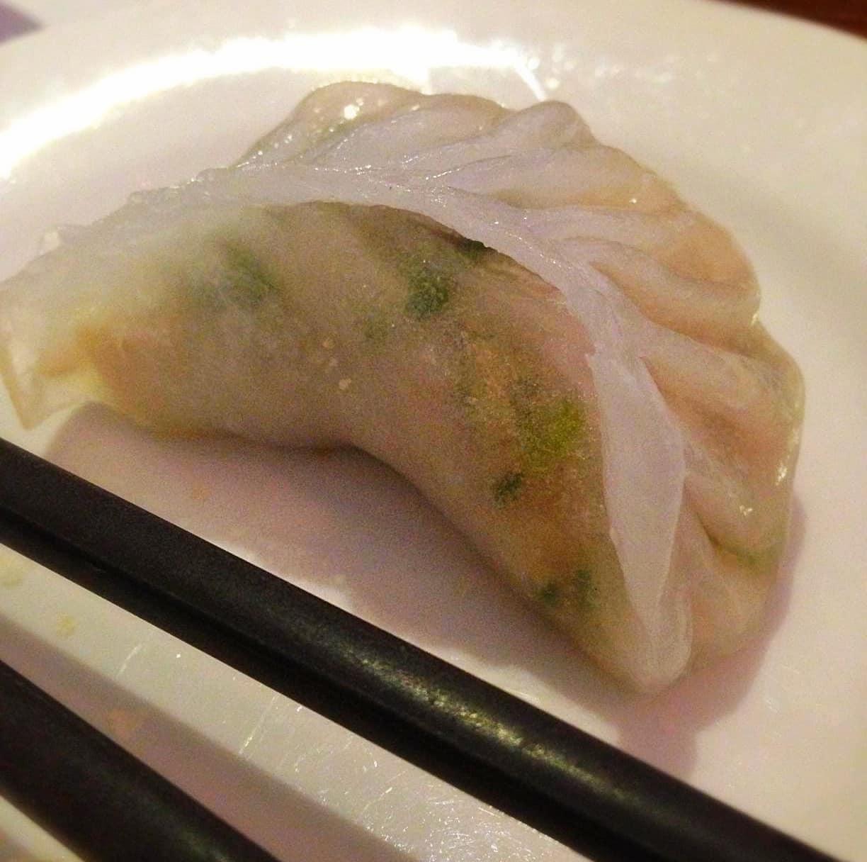 Chicken coriander dumpling Taipan yum dim sum