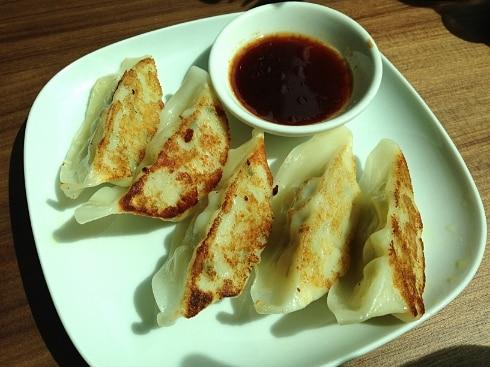 Chicken veg gyoza Mii & U Milton Keynes