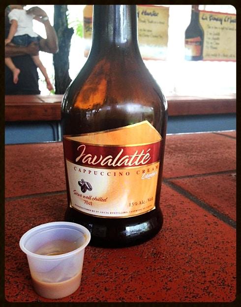 St Lucia Javalatte cappuccino cream