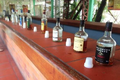 St Lucia rum distillery