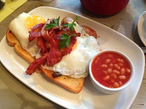 Bill's Breakfast, Hoxton Square London