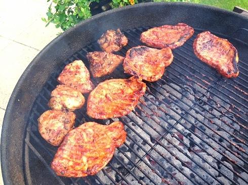 Chicken pork BBQ