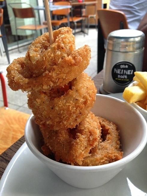 Gourmet Burger Kitchen Milton Keynes onion rings