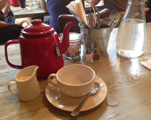 Tea Bill's Breakfast Hoxton Square London