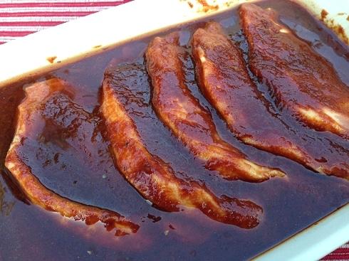 Webber BBQ pork marinade