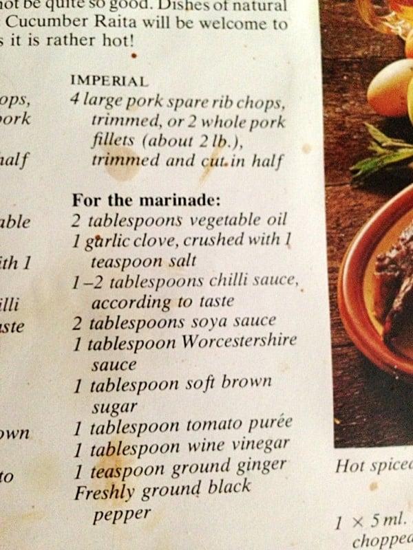 Yum Dim Sum BBQ pork marinade