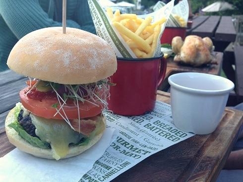 Burger Swan Inn Newton Newbury
