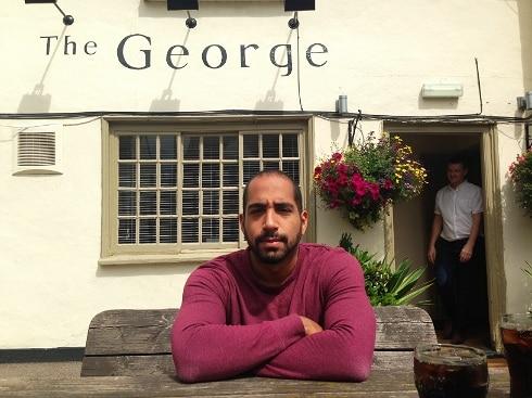 Mr Yum Dim Sum The George pub Spaldwick