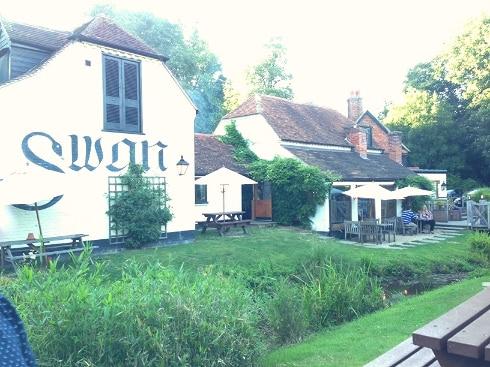 Newton Swan Inn Newbury review