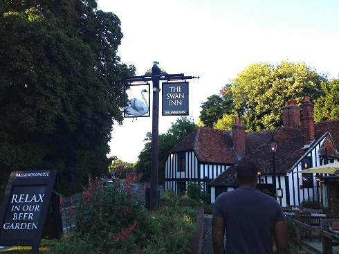 Swan Inn Newton Newbury review
